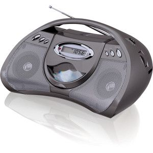 2yr Warranty Bonus GPX GPX Portable CD Boombox AM FM Radio LCD Display