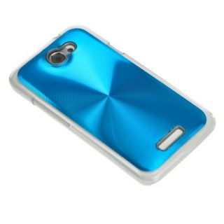 Azure CD Lines Design Hard Case Cover for HTC Onex LTE Endeavor Edge