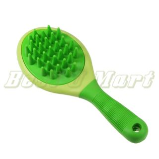 new pet dog cat comb bath massager grooming brush anti static design