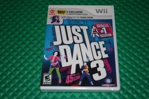 Ubisoft Just Dance 3 Nintendo Wii Game Katy Perry Cee Lo Snoop Dogg