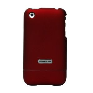 CaseCrown LUX Glider Cover Case for Apple iPhone 3G 3GS (Red)