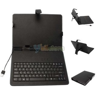 10 Tablet PC Leather Case Protecting Keyboard Stylus