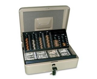 New Locking Cash Money Security Box Safe Lock Self Counting Change