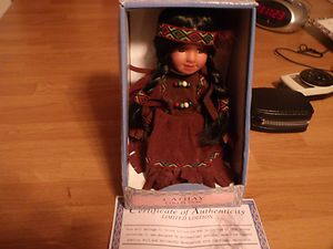 Cathay Collection Porcelain Native Doll