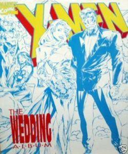 Men Wedding Album Jean Grey Cyclops Lobdell Ian Churchill 1994