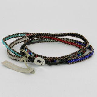 198 Chan Luu Semi Precious Leather Wrap Bracelet New