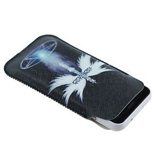 Case Bag Pouch for Mobile Phone Cell Phone Size 11 5x6 5x1cm Black