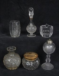 LOT 1901 PAN AMERICAN EXPO BUFFALO JAR 1880 HOODS FRENCH PERFUME LAMP