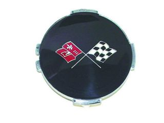 68 74 Chevy Finned Wheel Cover Center Cap Emblem New