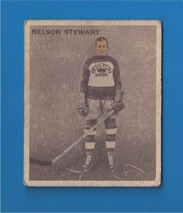 34 ICE KINGS HOCKEY V357 Hall of Fame centre NELSON (Nels) STEWART #12
