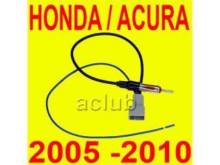 Honda Acura Aftermarket Radio Antenna Adapter 2005 2010