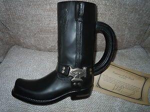 Cavanagh Harley Davidson Black Boot Beer Stein Special Edition w