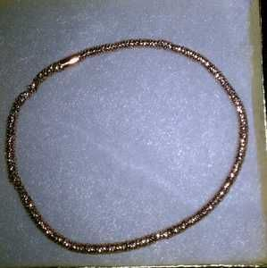 Authentic 14k Rose Gold Stretch Bracelet MADE IN ITALY Beautiful