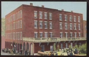 Postcard Central City Co Teller House Hotel View 1930S
