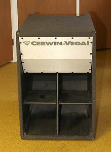 Cerwin Vega Subwoofer SL 36B 18 PORTABLE EARTHQUAKE FOLDED HORN