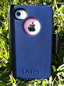 Otterbox Defender iPhone 4 4s Hot Pink Night Blue Lipstick Brand New