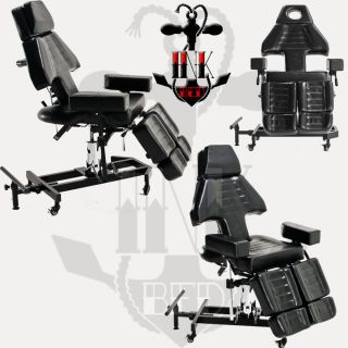 Hydraulic Chair Bed Massage Table Ink Bed Salon Equipment