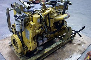 Caterpillar 6 Cylinder Diesel Engine Model Number 3126