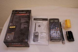 Radio shack pro-92 500 ch triple trunking handheld portable scanner