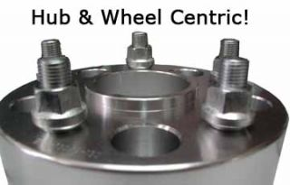 SPECIFIC 1.5 inch Wheel Spacer Spacers Set of 2 Adapters   Hub Centric
