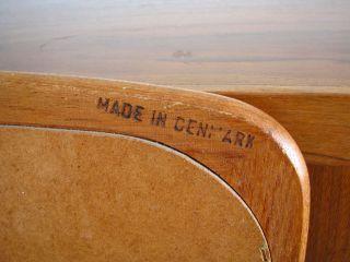 Mid Century Danish Modern Large Mirror Teak Eames Era