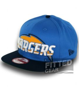 San Diego Chargers Squared Up New Era 9Fifty NFL Football Snapback