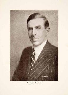 1931 Print William Bolitho Charles William Ryall Author Left Bank