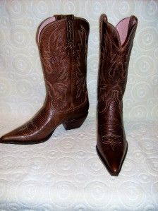 Charlie 1 Horse by Lucchese Brown Western Boots Sz 6 5 B