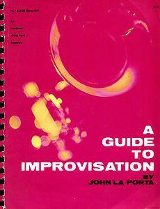 Guide to Improvisation Bass Clef Trombone String Bass Basson John