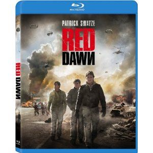 Red Dawn Patrick Swayze Charlie Sheen Blu Ray Disc 2012