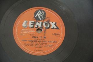 Sarah Vaughan Charlie Parker Dizzy Gillespie Mean to Me Lennox 500 78