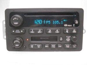 GMC Envoy Chevrolet Trailblazer Radio CD Player 02 03