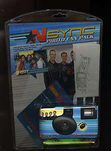Pack Camera Justin Timberlake Joey Fatone Lance Bass JC Chasez