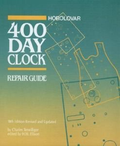 New Horolovar 400 Day Clock Repair Guide Newest Edition