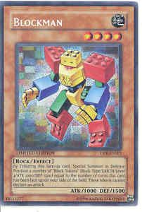 Yugioh Chazz Jaden Promo Secret RARE Foil Card Blockman