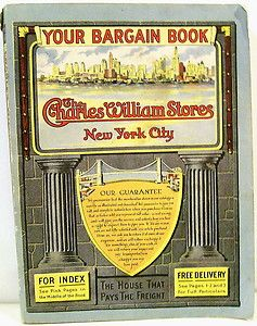 Mail Order Catalog for The Charles William Stores of New York City