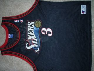 Allen Iverson 76ers Sixers XXL 52 Vtg NBA Champion Basketball Jersey