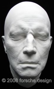 Charlton Heston Mature Life Mask Planet of the Apes, Ten Commandments