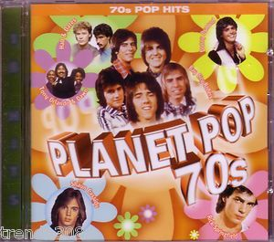 Planet Pop 70s CD Classic Teen Idols Shaun Cassidy Leif Garrett
