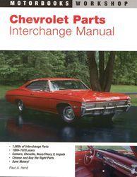 Chevrolet Parts Interchange Chevelle Impala Nova Camaro