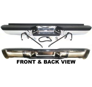 Rear Bumper New Chevy Suburban Chrome Chevrolet Blazer 99 98 97 96 95