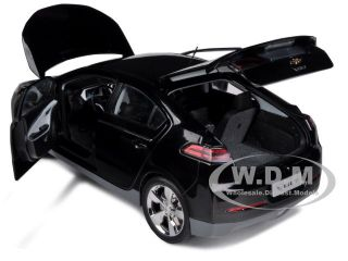 Chevrolet Volt Black 1 18 Diecast Car Model by Kyosho G004