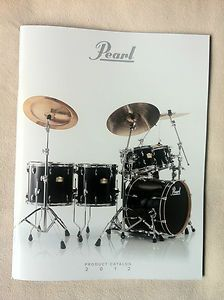 Pearl Drums 2012 Product Line Catalog NAMM