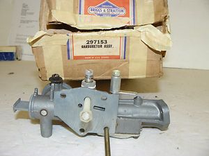 Vintage Nos Briggs & Stratton Small Engine Pulsa Jet Carburetor 297153