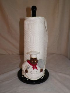 is for a new line of italian french fat chef paper towel holder. Black Bedroom Furniture Sets. Home Design Ideas