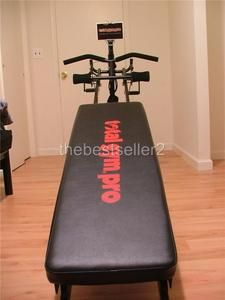 Chuck Norris Total Gym Pro with Accessories Very Good Condition FREE S