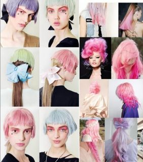 32 36 colors Temporary DYE SALON KIT SOFT Hair Chalks Pastels Wash Out