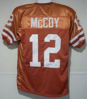 Colt McCoy Autographed Signed Texas Longhorns Orange Size XL Jersey