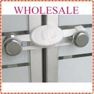 2P New Baby Safety Cabinet Lock child Door Lock Safety 1st white
