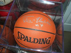 World Champion Chicago Bulls Toni Kukoc Signed Game NBA Spaulding